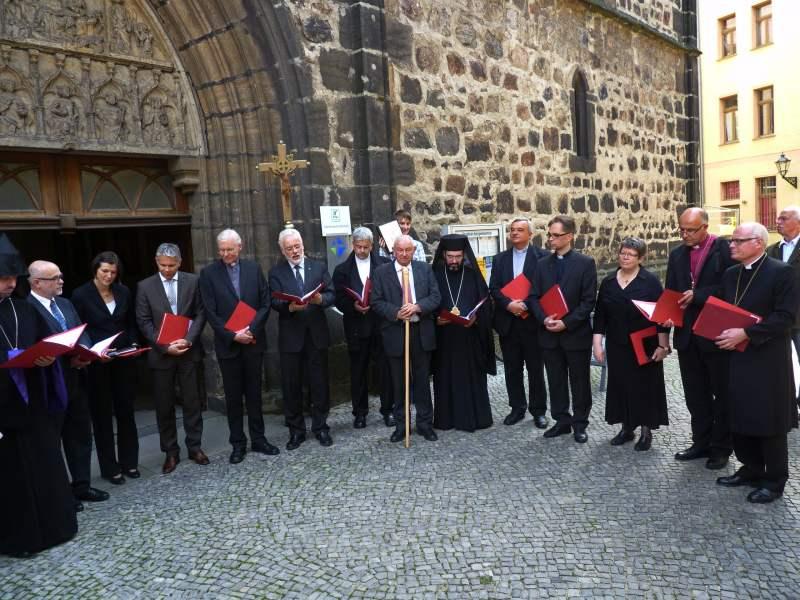 vorsitzender christlicher kirchen